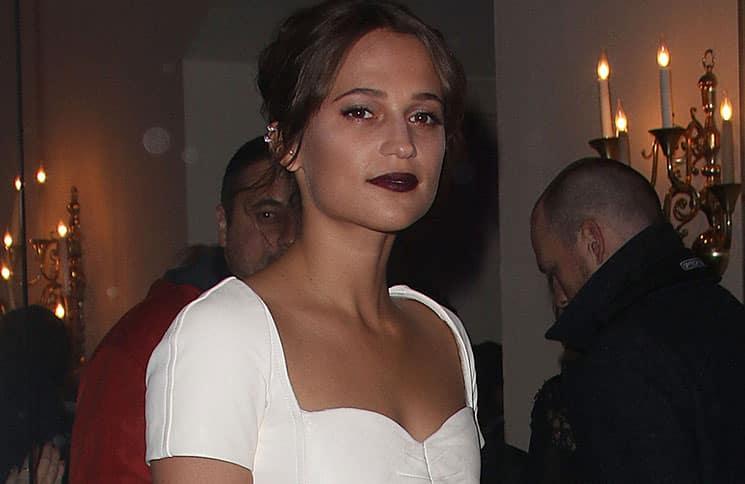 Alicia Vikander - 60th Annual BFI London Film Festival