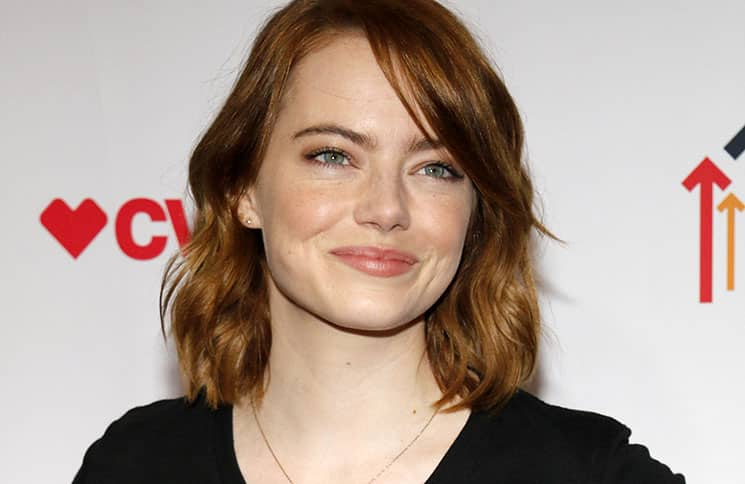 Emma Stone - Hollywood Unites For The 5th Biennial Stand Up To Cancer