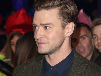 "Justin Timberlake - ""Trolls"" Lights Up The London Eye on September 29, 2016 - 2"