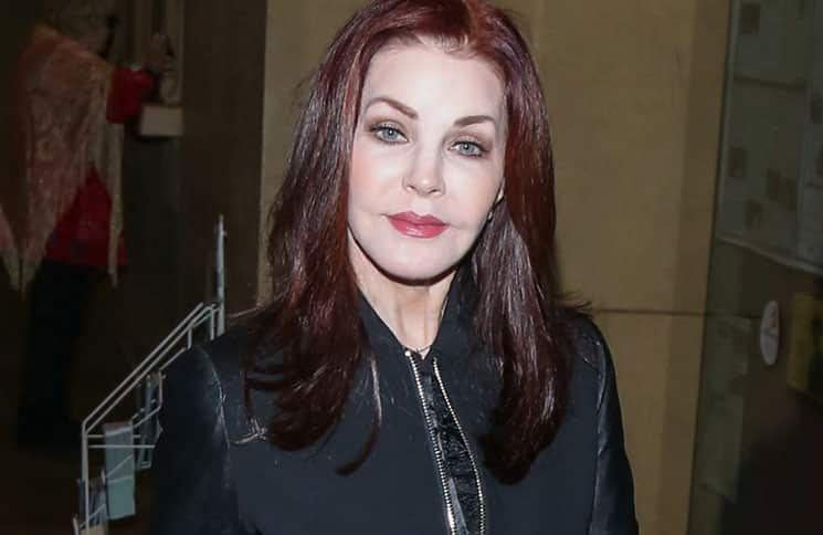 Priscilla Presley Sighted in Hollywood on March 3, 2016