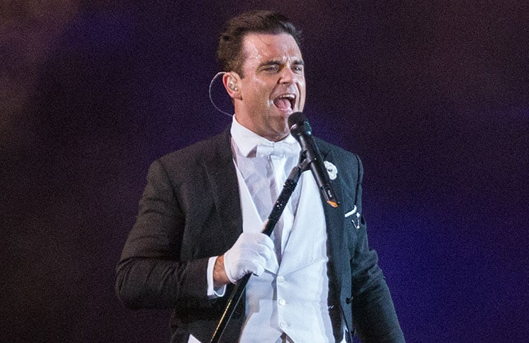 Robbie Williams - Rock in Rio Lisboa 2014 - May 25, 2014 - Parque da Bela Vista