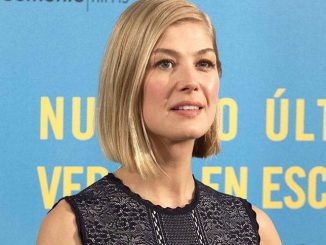 "Rosamund Pike - ""What We Did on Our Holiday"" (""Nuestro Ultimo Verano en Escocia"") Madrid Photocall"