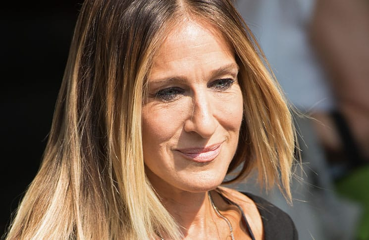 """Sarah Jessica Parker """"Stash SJP"""" Fragrance Launch Photocall at Boots Piccadilly in London on September 14, 2016"""