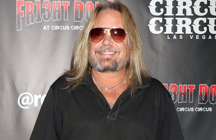 Vince Neil - 13th Anniversary Fright Dome at Circus Circus with Nevada SPCA