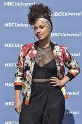 Alicia Keys - NBCUniversal 2016 Upfront Presentation