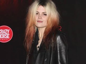 "Alison Mosshart - ""Forever Crazy"" Cabaret by Crazy Horse Paris VIP Gala at South Bank in London"