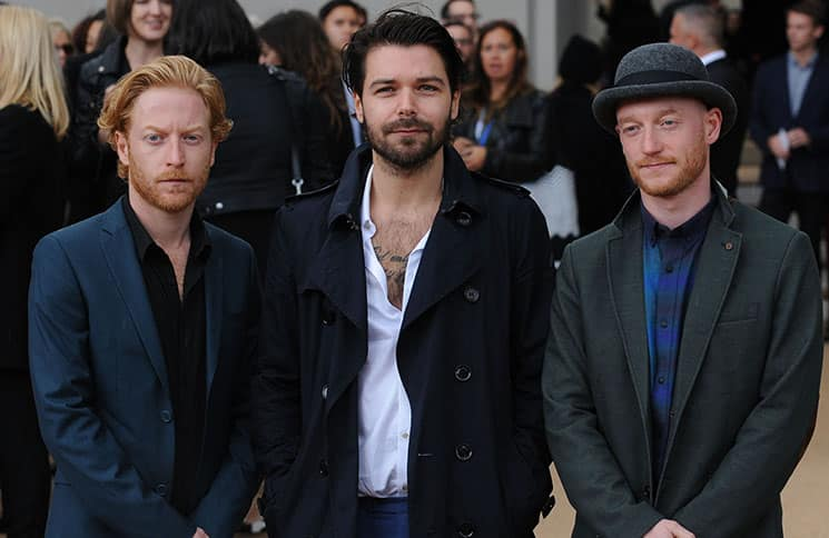Biffy Clyro - London Fashion Week Spring/Summer 2014