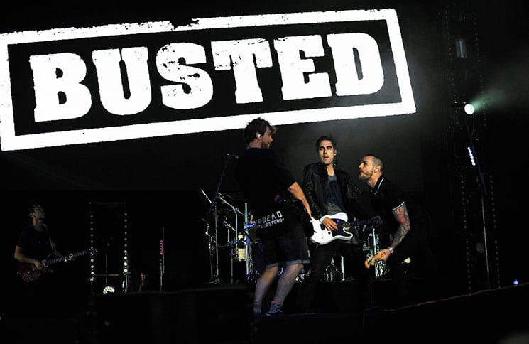 Busted - 2016 Fusion Festival at Otterspool Parade
