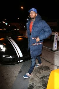 Chris Brown - Celebrities Sighted at Catch Restaurant in West Hollywood