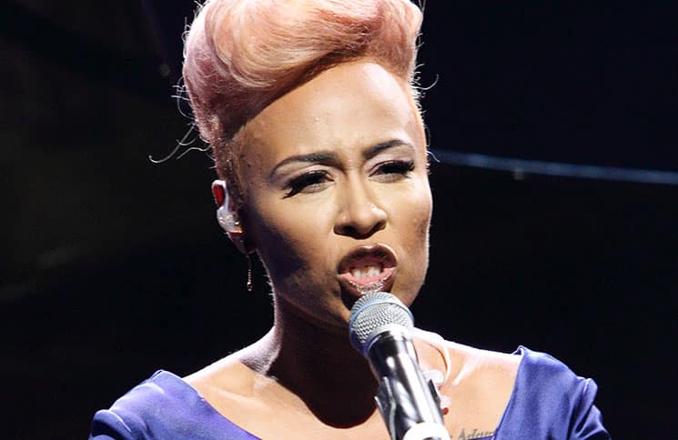 Emeli Sande - Jaguar XE Sport Saloon Global Launch Party and Show - 2