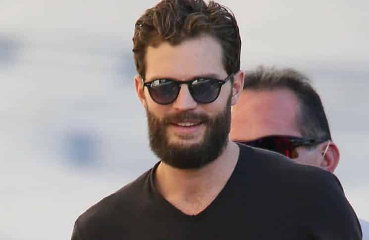 "Jamie Dornan Sighted Arriving at ""Jimmy Kimmel Live!"" on November 3, 2016"