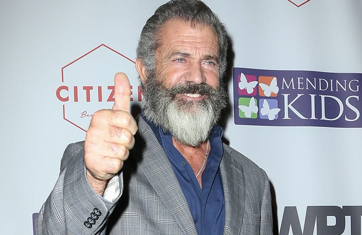 Mel Gibson - 2016 Four Kings and an Ace Charity Poker Night Presented by World Poker Tournament