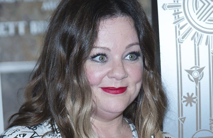 """Melissa McCarthy - """"Ghostbusters"""" Cast Visits the Empire State Building on July 12, 2016"""