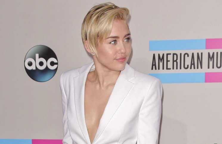 Miley Cyrus - 41st Annual American Music Awards - 5