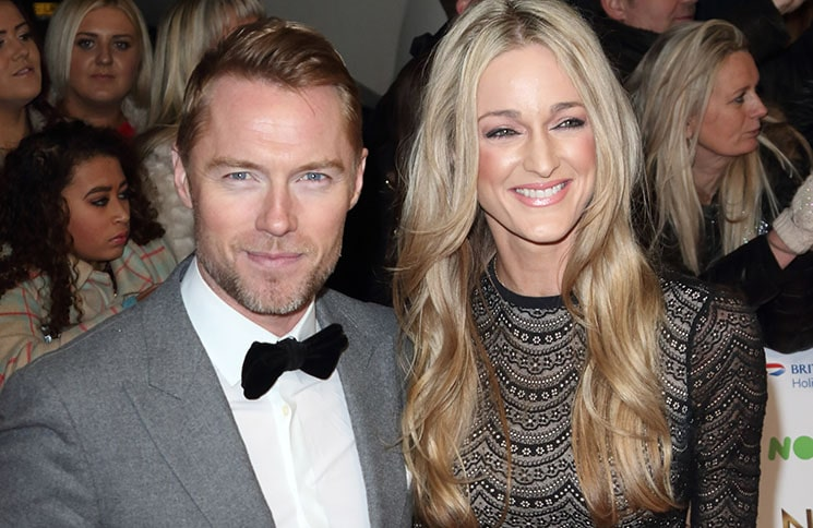 Ronan Keating and Storm Keating - National Television Awards 2016
