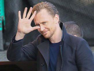 "Tom Hiddleston Sighted Arriving at ""Jimmy Kimmel Live!"" on November 16, 2016"