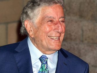 "Tony Bennett - Keep Memory Alive's 20th Annual ""Power of Love"" Gala Honors Tony Bennett with a Las Vegas Strip Marquee"