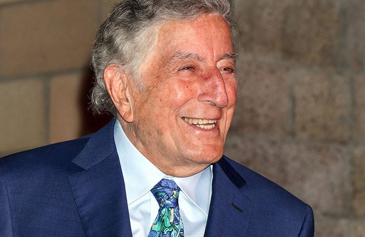 """Tony Bennett - Keep Memory Alive's 20th Annual """"Power of Love"""" Gala Honors Tony Bennett with a Las Vegas Strip Marquee"""