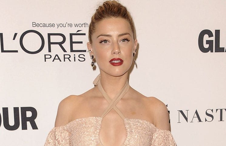 Amber Heard - Glamour Women Of The Year 2016