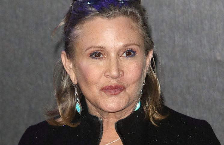 "Carrie Fisher - ""Star Wars: The Force Awakens"" European Premiere"