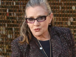 "Carrie Fisher - ""Absolutely Fabulous: The Movie"" World Premiere"