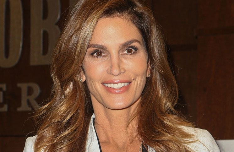 "Cindy Crawford - ""Becoming by Cindy Crawford"" Book Signing at Barnes & Noble in Los Angeles"