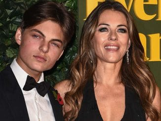 Damian Hurley and Elizabeth Hurley - 62nd Annual London Evening Standard Theatre Awards