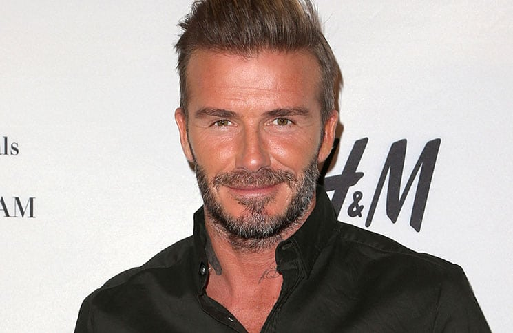 David Beckham Launches New H&M Modern Essentials Campaign