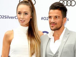 Emily MacDonagh and Peter Andre - Nordoff Robbins O2 Silver Clef Awards 2016