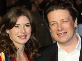 "Jamie Oliver and Jools Oliver - ""Eddie the Eagle"" European Premiere"