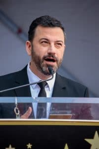 Jimmy Kimmel - Kelly Ripa Honored with a Star on the Hollywood Walk of Fame