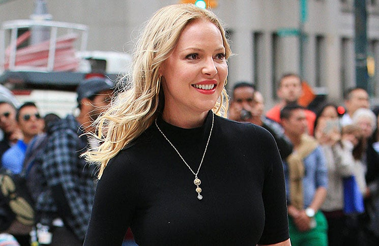 """Katherine Heigl Sighted on the Set of """"Doubt"""" in New York City on October 14, 2015"""