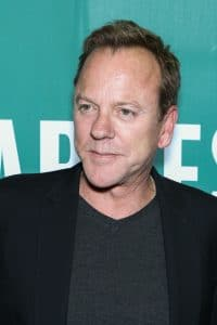 "Kiefer Sutherland ""Down in a Hole"" Album Signing at Barnes & Noble in New York on August 13, 2016"