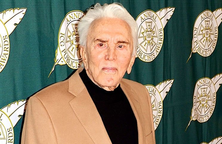 Kirk Douglas - 50th Annual International Cinematographers Guild (IATSE Local 600) Publicists Awards Luncheon