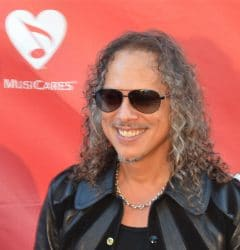 Kirk Hammett - 10th Annual MusiCares Map Fund Benefit Concert