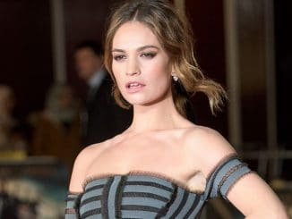 """Lily James - """"Pride and Prejudice and Zombies"""" European Premiere"""