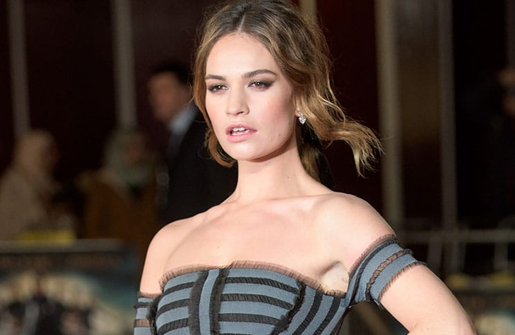 "Lily James - ""Pride and Prejudice and Zombies"" European Premiere"