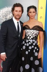 "Matthew McConaughey and Camila Alves - ""Sing"" Los Angeles Premiere"