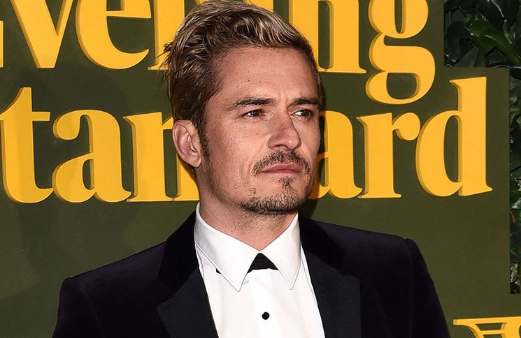 Orlando Bloom - 62nd Annual London Evening Standard Theatre Awards