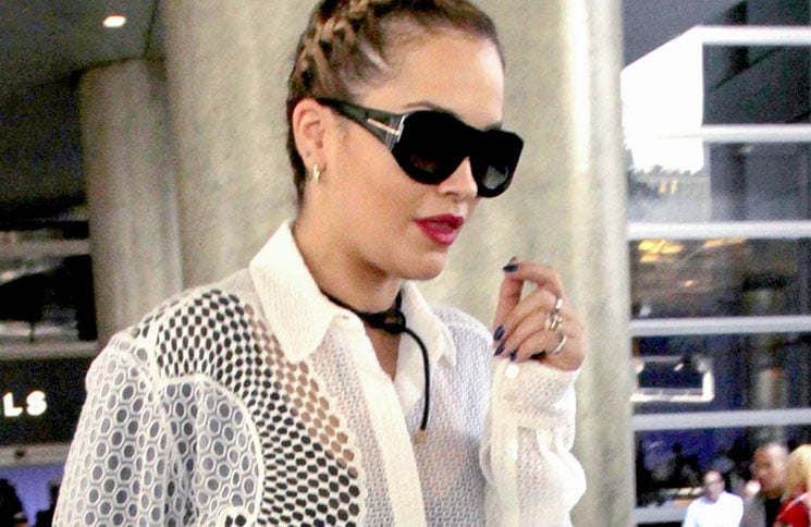 Rita Ora Sighted at LAX Airport on October 7, 2016 - 2