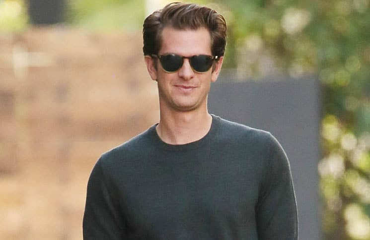 Andrew Garfield Sighted Arriving at