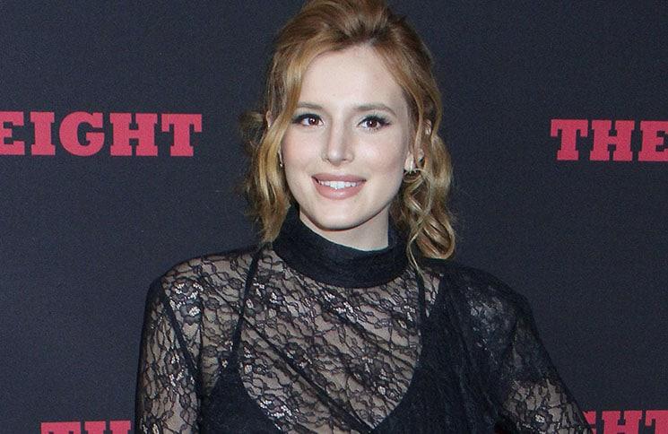 "Bella Thorne - ""The Hateful Eight"" Los Angeles Premiere"