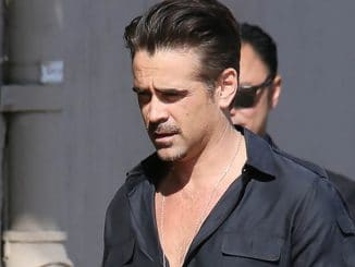 "Colin Farrell Sighted Arriving at ""Jimmy Kimmel Live!"" on May 24, 2016"