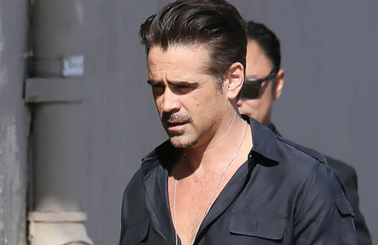 """Colin Farrell Sighted Arriving at """"Jimmy Kimmel Live!"""" on May 24, 2016"""