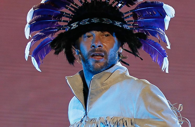 Jamiroquai in Concert at Movistar Arena in Santiago - April 30, 2011
