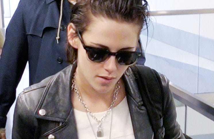 Kristen Stewart Sighted at LAX Airport on January 19, 2017