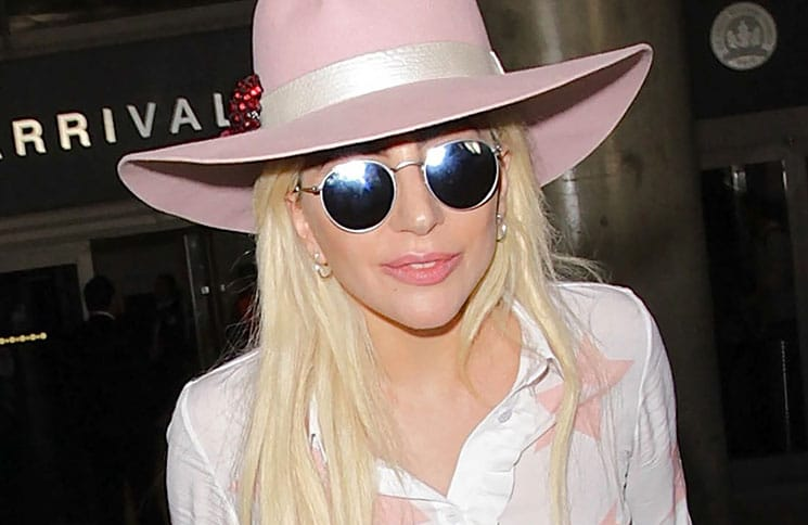 Lady Gaga Sighted at LAX Airport on December 8, 2016