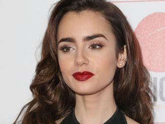 Lily Collins - 10th Annual GO Campaign Gala