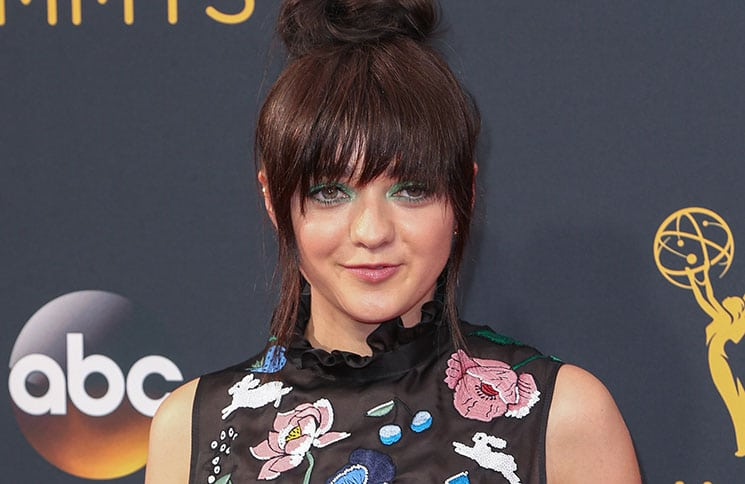 Maisie Williams - 68th Annual Primetime Emmy Awards
