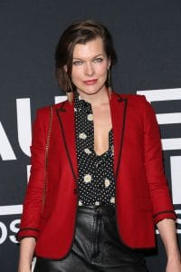 Milla Jovovich - Saint Laurent at the Palladium